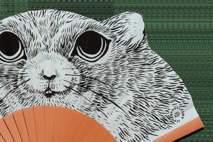 Éventail Fifi le hamster Détail